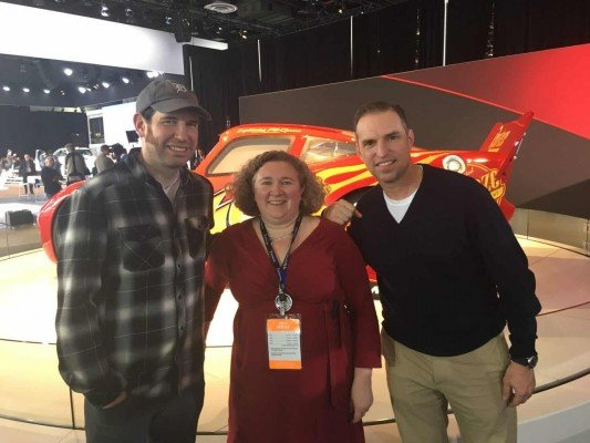 Cars 3 - Me with Film makers Jay Shuster & Jay Ward