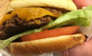 Elevation Burger - Single Burger with Lettuce, Tomato, Caramelized Onion