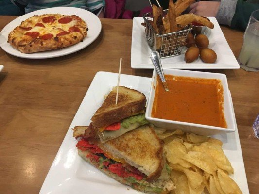 Revel and Roll lunch
