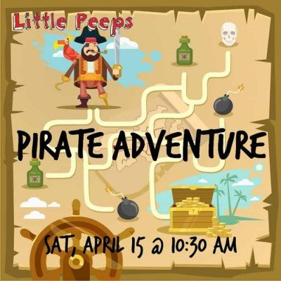 Little Peeps - Pirate Adventure