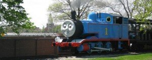 Thomas Pulls into Greenfield Village