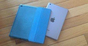 Genius Phone Repair - iPad out of case on the floor