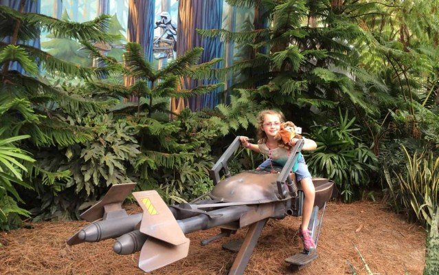 Moana Movie Night - Disney Parks - Speeder Bike at Hollywood Studios