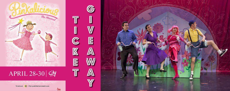 Pinkalicious The Musical - 2017 Ticket Giveaway