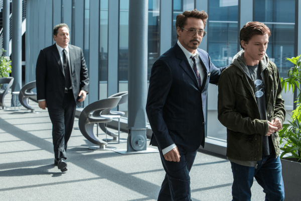 Spiderman: Homecoming - Peter Parker with Tony Stark