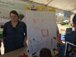 Ann Arbor Earth Day Festival - Finger Paints
