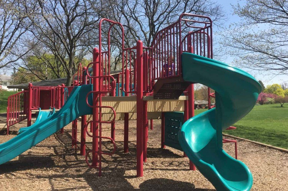 Hunt Park Playground Profile - Slides