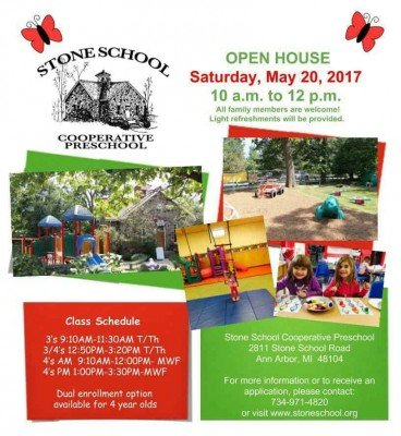 Stone School Cooperative Preschool - May 2017 Open House