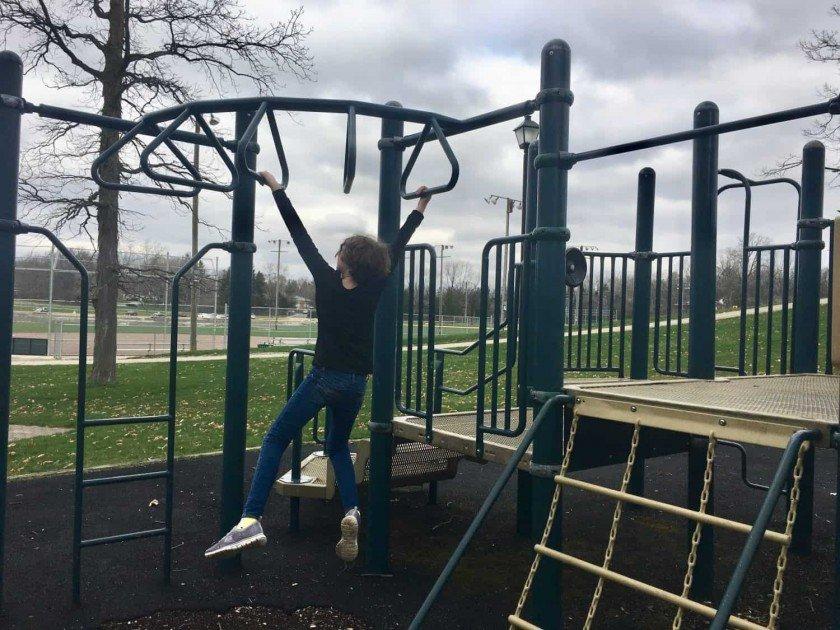 Veterans Memorial Park - Playground - Monkey Bars