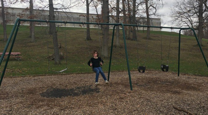 Veterans Memorial Park - Playground Swings
