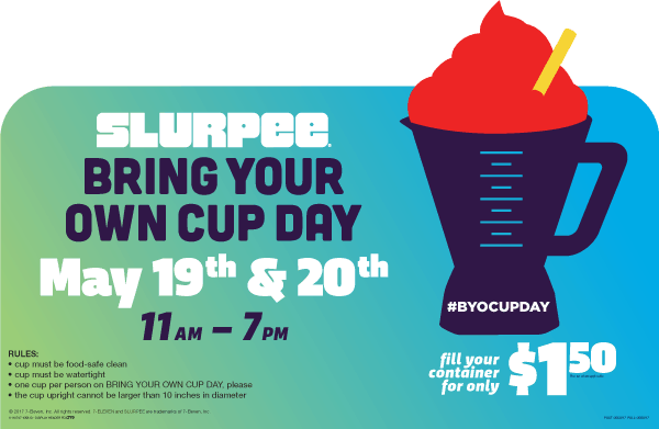 7-Eleven Bring Your Own Cup Day