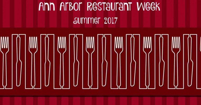 Ann Arbor Restaurant Week Summer 2017