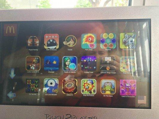 Lohr Rd McDonalds Grand Reopening - Tablet