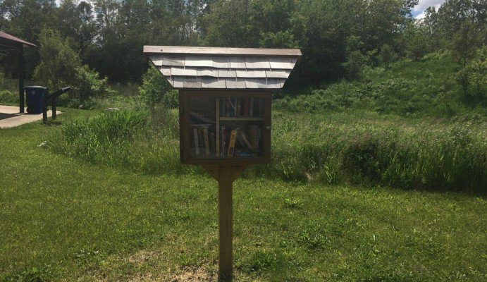 Olson Park Playground Profile - Little Free Library