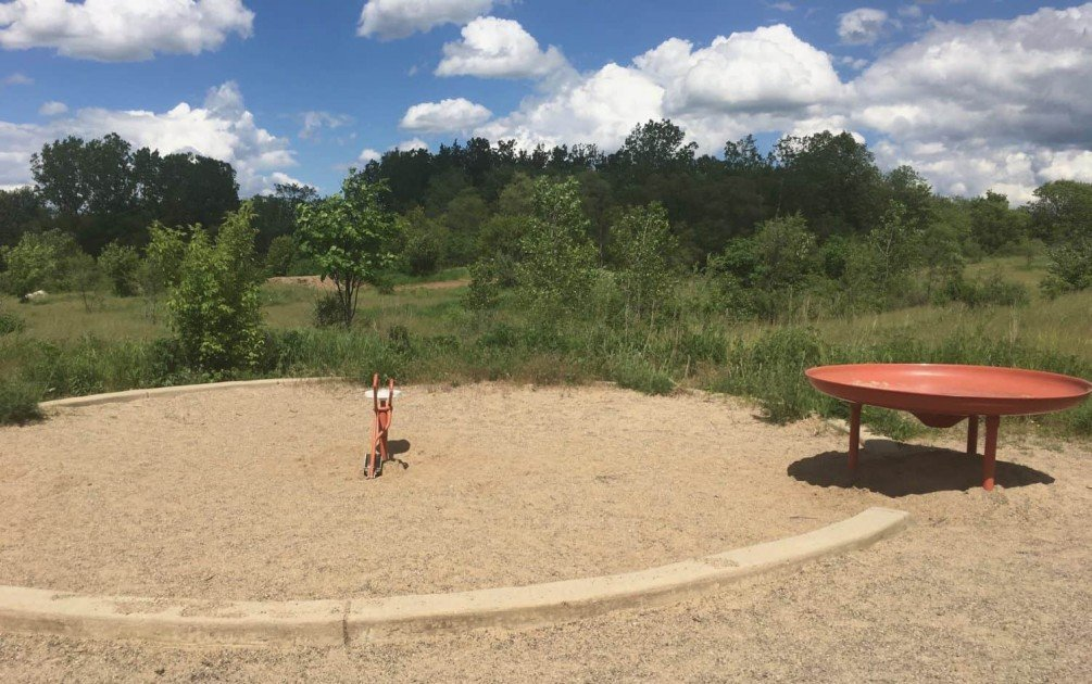 Olson Park Playground Profile - Sand Digger and Funnel Table