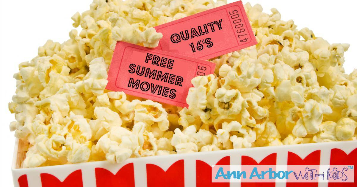 Quality 16 Free Movies - Summer 2017