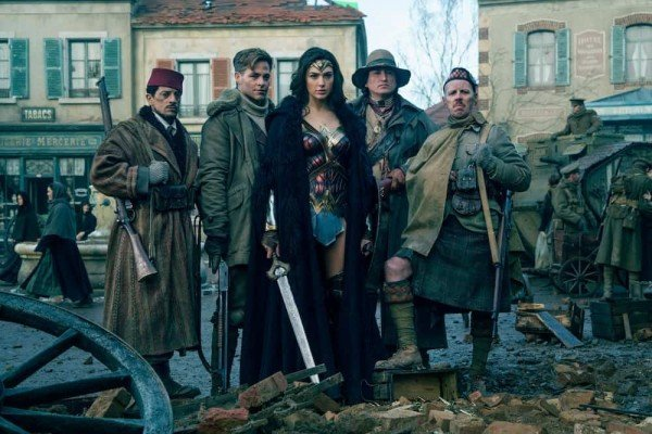 Wonder Woman - Group Photo