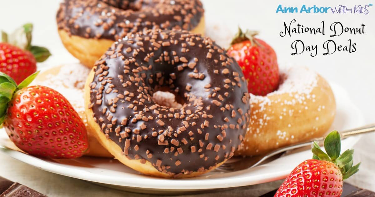 Ann Arbor National Donut Day Deals