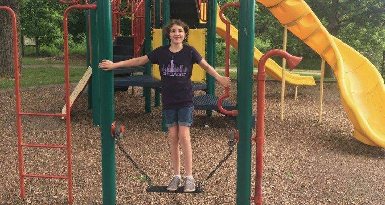 Buhr Park Playground - Balanced!