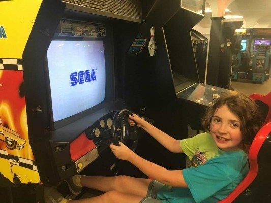 Cedar Point - Wednesday Activity Review - Arcade Sega