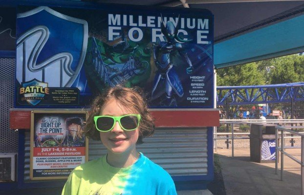 Cedar Point - Wednesday Activity Review -Millennium Force