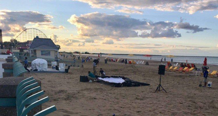 Cedar Point - Wednesday Activity Review - Beach