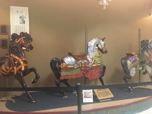 Cedar Point - Wednesday Activity Review - Museum Carousel Horses