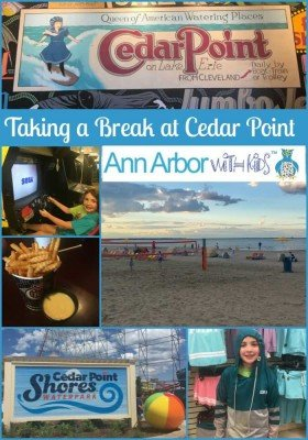 Cedar Point - Wednesday Activity Review - Collage
