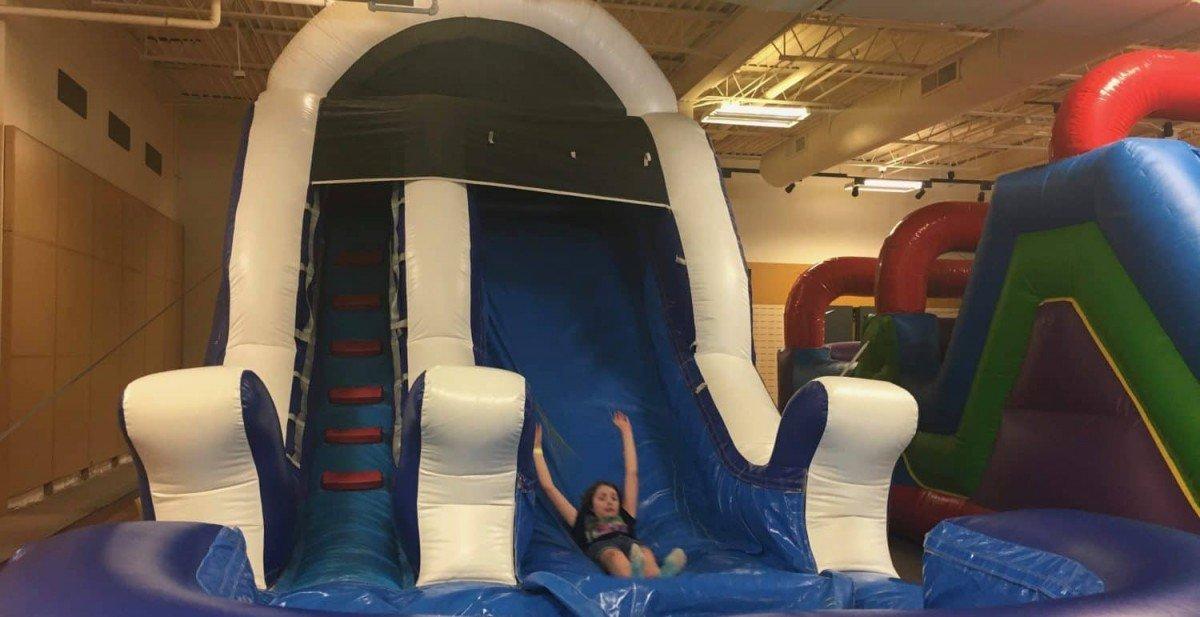 Ann Arbor Indoor Activities - Colby Bounce - Slide