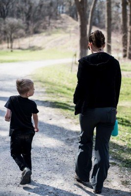 Family Friendly Ann Arbor Hikes - Annie & Neko in The Arb