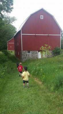 Family Friendly Ann Arbor Hikes - Barn at Matthaei Botanical Gardens
