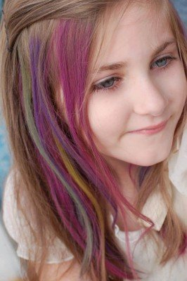 Summer Hair Trends - Multi-Color Streaks