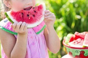 Vintage Fun - Watermelon Girl