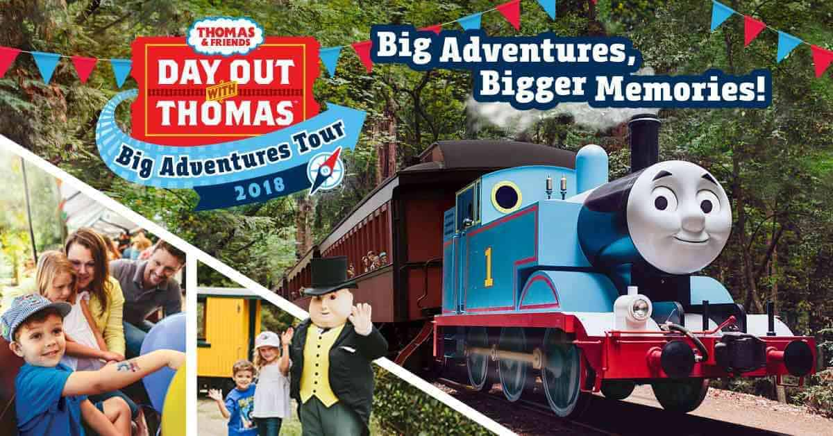 2018 Day Out With Thomas at Crossroads Village -