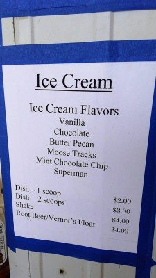 Ann Arbor 4-H County Fair - Ice Cream Flavors