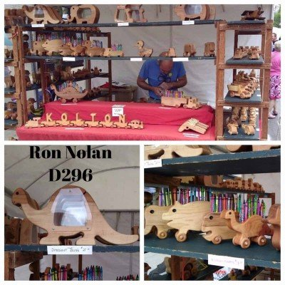 Ann Arbor Art Fair - Wooden Toys