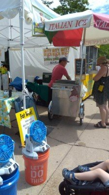 2017 Ann Arbor Art Fair Review - Italian Ice