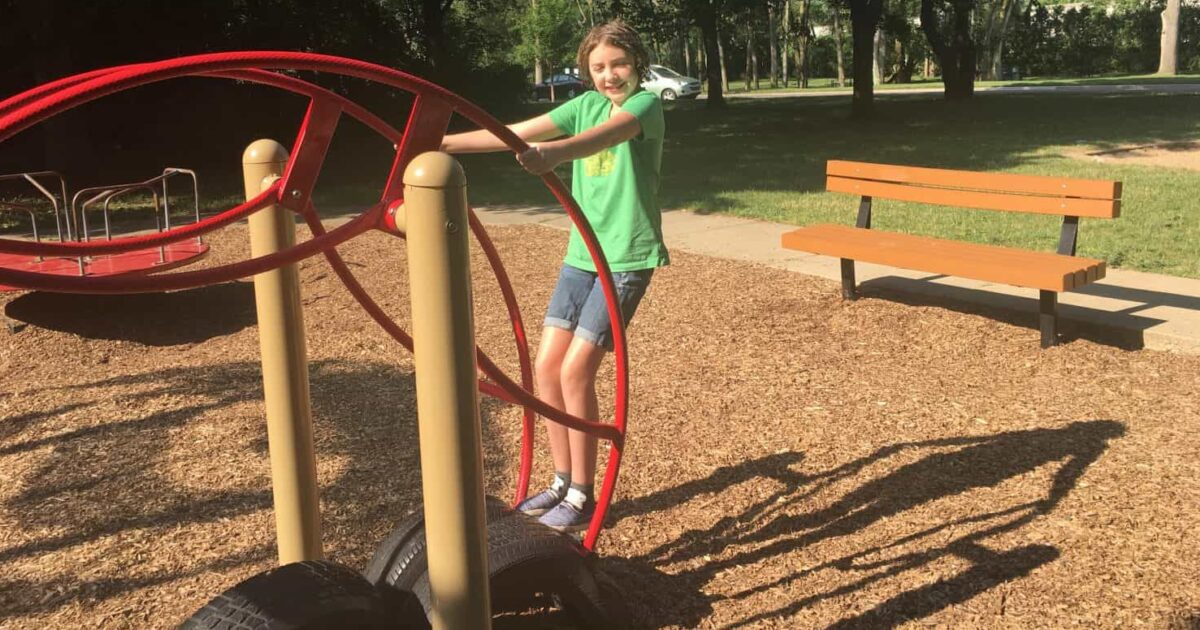 Frisinger Park Playground Review - Seesaw