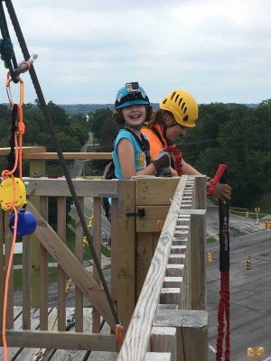 Toledo Zoo Aerial Adventure Course - Ready for Flight Line