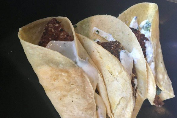 Ypsi Alehouse Review - Fish Tacos