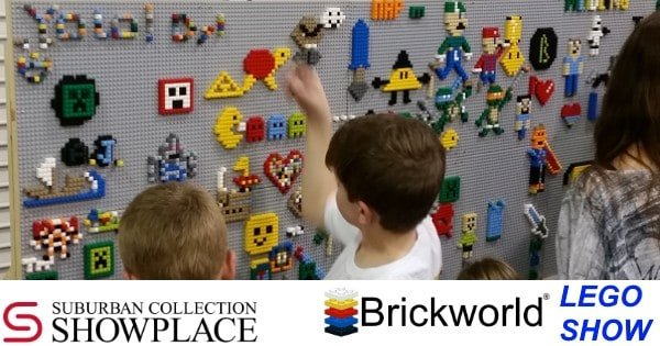 Brickworld Michigan - Building Wall