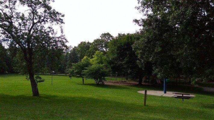 Maryfield Wildwood Park - Swings