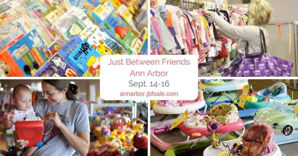 Ann Arbor Just Between Friends Sale