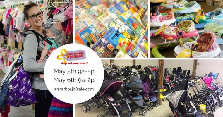 Ann Arbor Just Between Friends Mom2Mom Sale Spring 2018