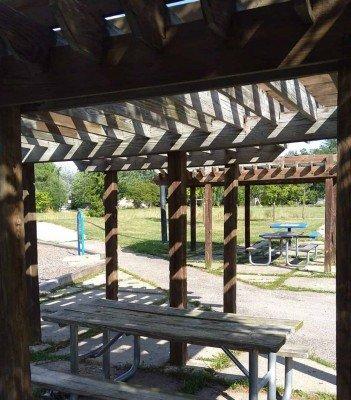 Arbor Oaks Playground Profile - Trellis Shade