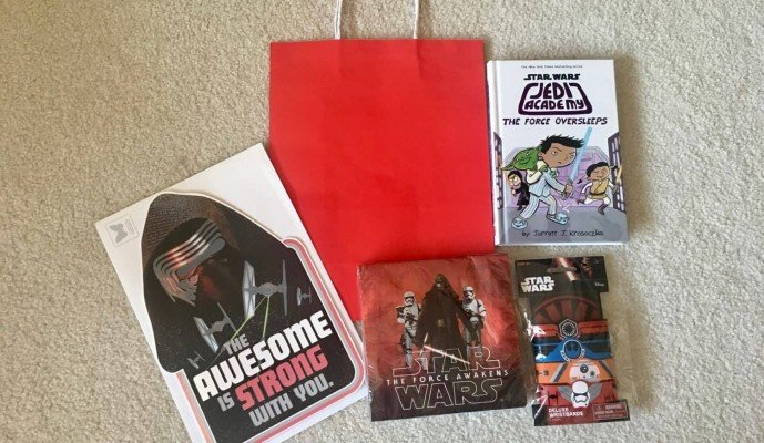 Birthdays Made Brighter - Star Wars Components - Customized Gift Wrap Ideas