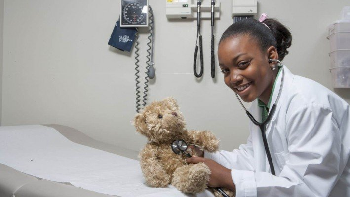 Doctor Treating Teddy Bear