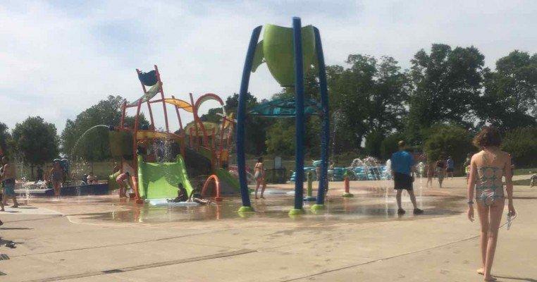 Rolling Hills Water Park Splash Pad