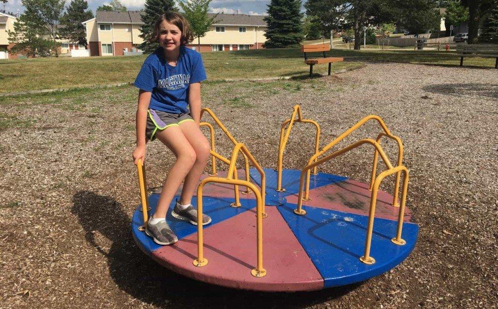 South Maple Park - Playground Profile - Merry Go Round