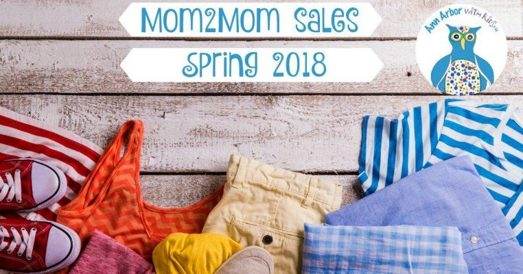 Ann Arbor Mom2Mom Sales - Spring 2018